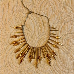 Baublebar spike statement necklace